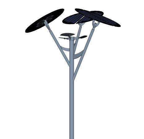 Solar-Powered Tree, Outdoor Lighting System