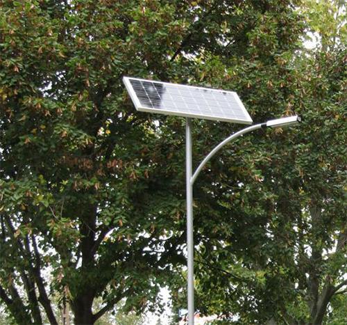Dombóvár, cycle path solar public lighting
