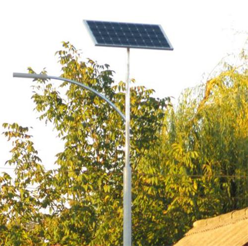 Hajdúnánás, solar public lighting