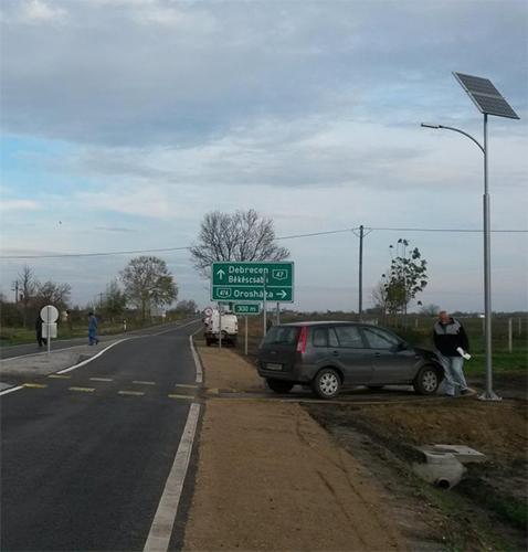 Kakasszék, solar light
