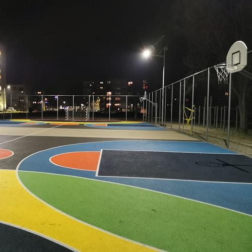 Kiskunfélegyháza, Green City Program, Solar outdoor court lighting