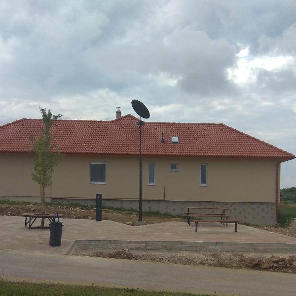 Cserszegtomaj, solar park lighting
